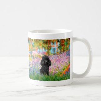 Poodle (black 1) - Garden Coffee Mugs