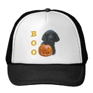 Poodle (Black Coated) Boo Trucker Hats