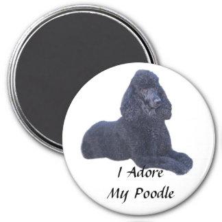 Poodle Black Magnet I Adore