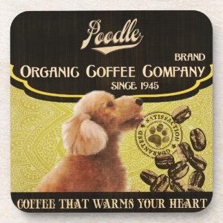 Poodle Brand – Organic Coffee Company Coaster