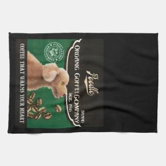 Poodle Brand – Organic Coffee Company Kitchen Towel