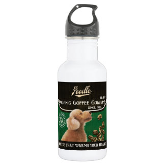 Poodle Brand – Organic Coffee Company Water Bottle