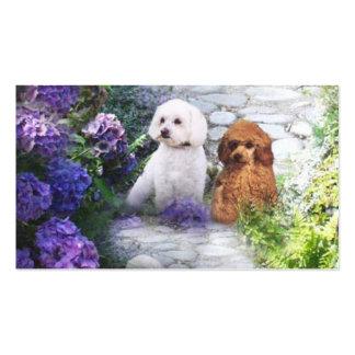 Poodle Breeder Business Card