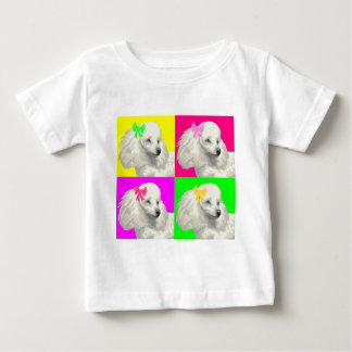 Poodle Bright Collage1 Baby T-Shirt