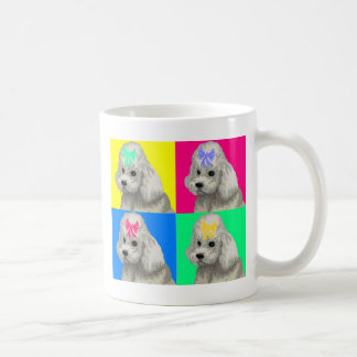 Poodle Bright Collage 2 Coffee Mug