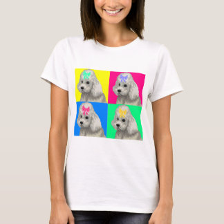 Poodle Bright Collage 2 T-Shirt
