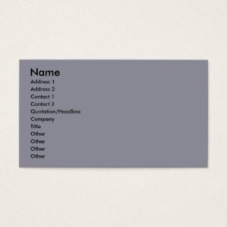 Poodle - Brulee - Trainer Business Card