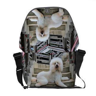 Poodle - Brulee - Trainer Messenger Bag