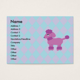 Poodle Business Cards