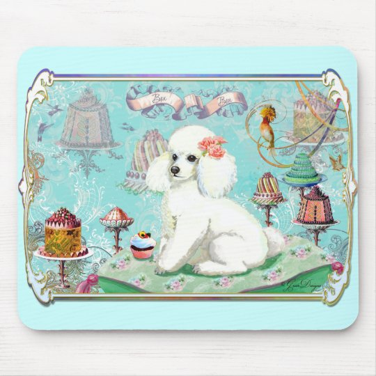 Poodle Cakes Mouse Pad