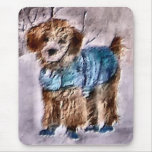 Poodle Christmas Gifts Mouse Pad