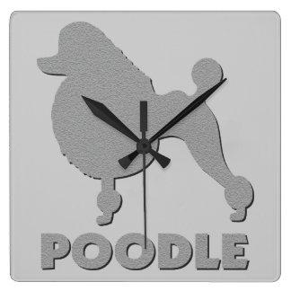 Poodle Wallclocks