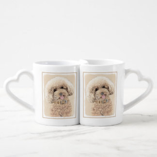 Poodle Coffee Mug Set
