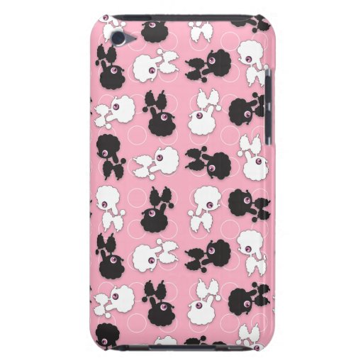 Poodle Cuties on Pink iPod Touch iPod Touch Cases