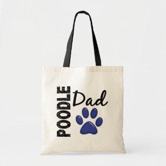 Poodle Dad 2 Budget Tote Bag