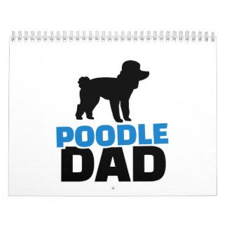 Poodle Dad Calendar