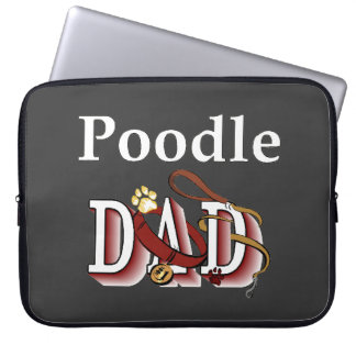 Poodle Dad Gifts Computer Sleeve
