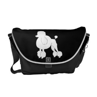 poodle dog bag courier bag