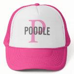 Poodle Dog Breed Trucker Hat/Cap Trucker Hat