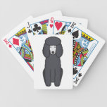 Poodle Dog Cartoon Card Decks