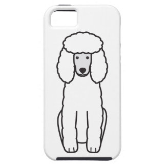 Poodle Dog Cartoon iPhone 5 Cover