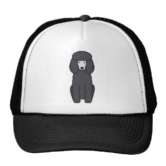 Poodle Dog Cartoon Trucker Hat