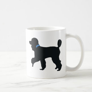 poodle dog coffee mugs