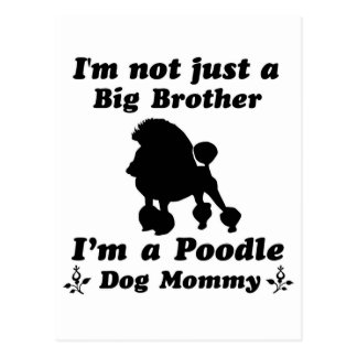 poodle Dog Designs Postcard
