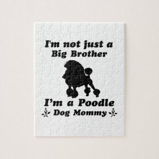 poodle Dog Designs Jigsaw Puzzle