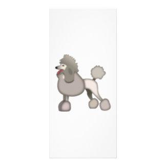 Poodle Dog - Emoji Rack Card