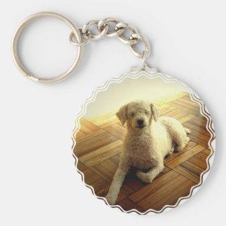 Poodle Dog Keychain