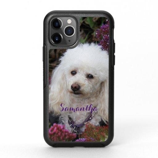 Poodle Dog Otterbox iphone 11 pro case