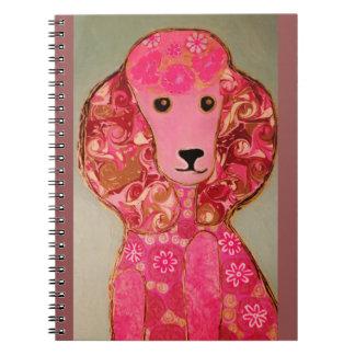Poodle Dog Photo Notebook