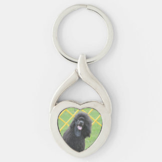 Poodle Dog Keychains