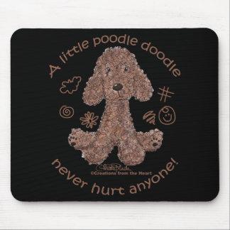Poodle Doodle Mouse Pad