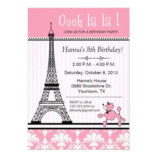 Tea Party Themed Bridal Shower Invitations with amazing invitations design