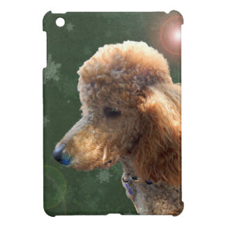 POODLE FOR THE HOLIDAYS iPad MINI COVER