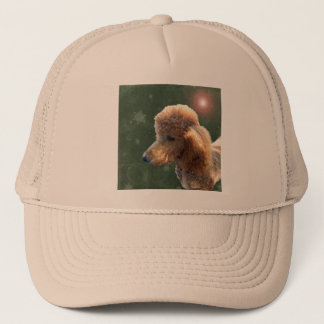 POODLE FOR THE HOLIDAYS TRUCKER HAT
