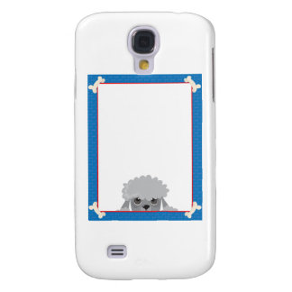 Poodle Frame Galaxy S4 Cover