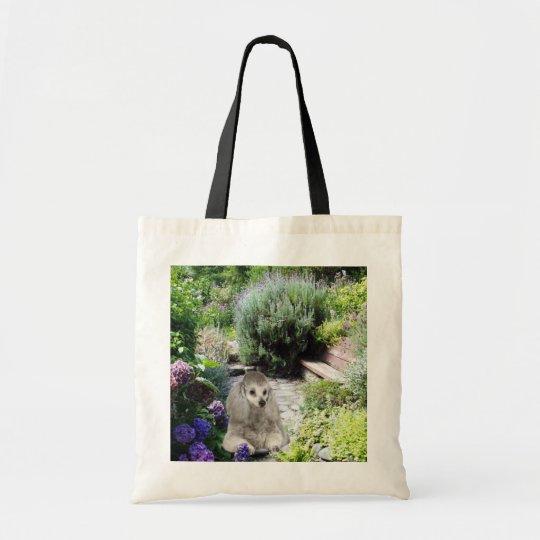 Poodle Garden Tote Bag