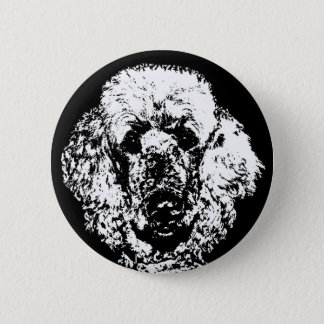 Poodle Gifts - Button