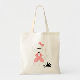 Poodle Ginger Bookbag Tote Bag