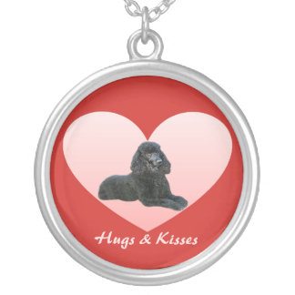 Poodle Heart Necklace