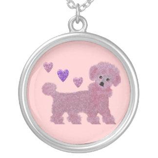 Poodle Hearts Necklace
