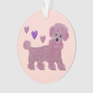 Poodle Hearts Ornament