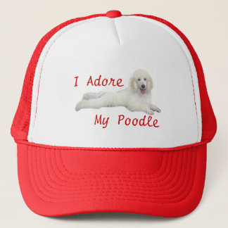 Poodle I Adore Hat