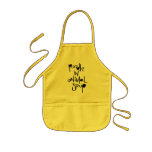 Poodle In Animal Soup Kids' Apron