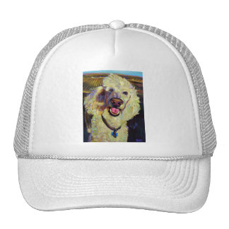 Poodle in Wine Country Trucker Hat