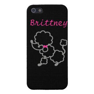 Poodle iPhone 5 Case