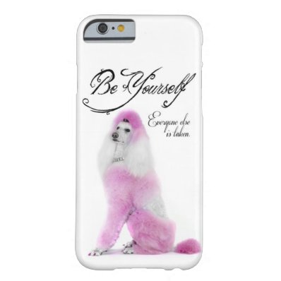 Poodle iPhone 6 Case